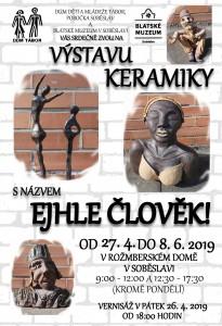 2019 RD výstava keramiky - plakát