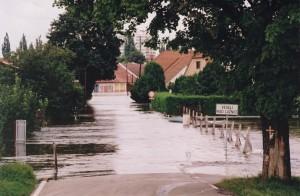 povodně Veselí 1